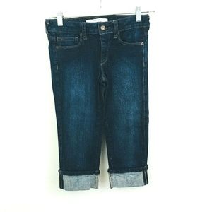 Joe's Jeans Rolled Cuff Denim Capri Jeans 14